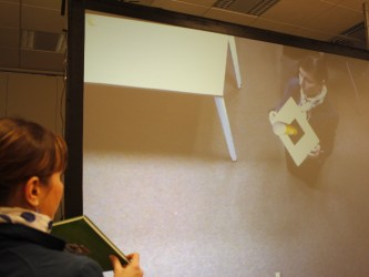 Virtual code augmented reality