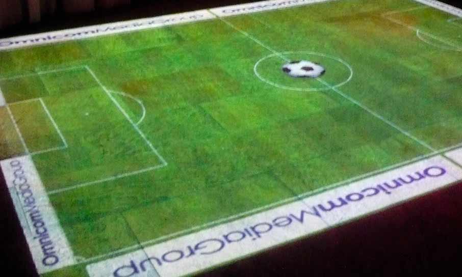 Interaktivní fotbal