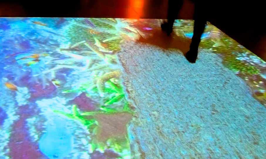 Interaktivní podlaha